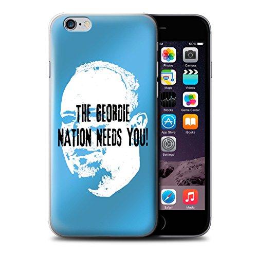 Offiziell Newcastle United FC Hülle / Case für Apple iPhone 6S / Pack 8pcs Muster / NUFC Rafa Benítez Kollektion Geordie Nation