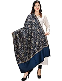 FusFus Women's Weaving Woolen Shawl (F0117,Multicolour,Free Size)