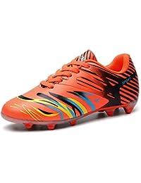 82ee5bae596f5 WOWEI Zapatos de Fútbol Aire Libre Profesionales Atletismo Training Botas  de Fútbol Adolescentes Adultos Zapatos de