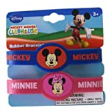Disney Mickey Mouse Clubhouse 2pc Rubber...