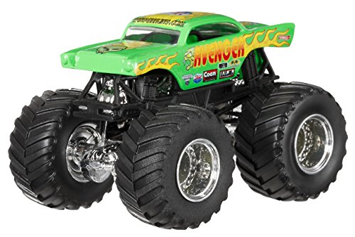 MATTEL Hot Wheels Diecast Monster Jam 4modelli (Sogg.casuale) BHP37