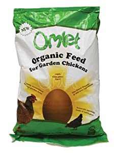 Organic Omlet Chicken Feed 10kg from Omlet