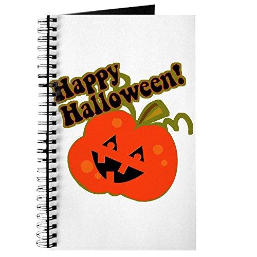 CafePress-Halloween Jack O Laterne-Spiralbindung Journal Notebook, persönliches Tagebuch, Aufgabe Tagebuch