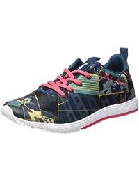 DESIGUAL Baloncesto Zapatos Zapatilla de Entrenamiento de Denim Oscuro 17WKRW01518 5188