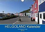 Helgoland Kalender (Wandkalender 2019 DIN A4 quer): Hochseeinsel für Kenner und Liebhaber. (Monatskalender, 14 Seiten ) (CALVENDO Orte)
