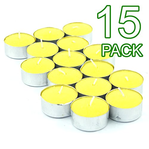 Citronnelle Bougie chauffe-plat, Pack of 15