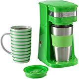 Hoberg Café-BoXX - Máquina de café individual, color verde