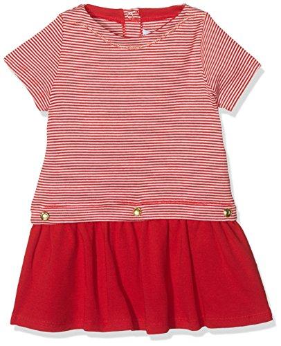 Petit Bateau Baby-Mädchen Kleid Robe MC 43192, Mehrfarbig (Terkuit/Marshmallow 20), 62 (Herstellergröße: 3M 3 Mois) (43192)