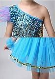 MATISSA Kinder Pailletten Tanzkostüme Ballettkleider Röcke Tanzbekleidung Kinder Mädchen 3-15 Jahre
