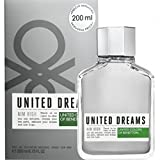 #2: United Colors of Benetton United Dreams AIM HIGH For Men EDT, 200ml