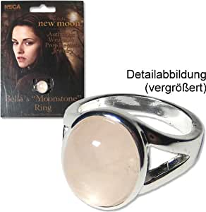 Twilight Saga Eclipse: Bella's Moonstone Ring Authentic Prop Replica Jewelry Official by NECA (Bella Swan)