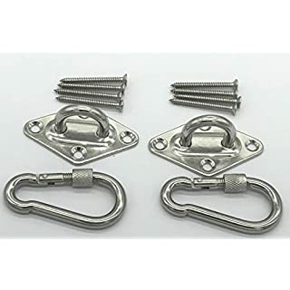 Alemon Hammock hanging kit Ultra Durable Hammock Hooks