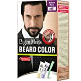 Best For Men Hair Dyes - Bigen Men's Beard Color, Natural Black B101, 40g Review