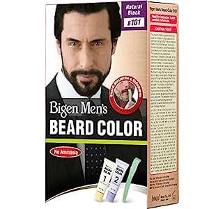 Buy Bigen Men\'s Beard Color, Natural Black B101 (20g + 20g) Online ...