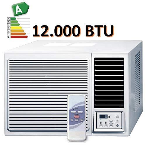 CLIMATISEUR fenêtre 12000 BTU CLIMATISATION R32 MONOBLOC avec pompe à chaleur