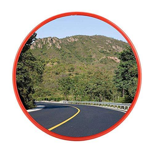 GOTOTOP Specchio panoramico Stradale Specchio Convesso di Sicurezza Specchi Parabolici Infrangibili,per la Sicurezza in Strada e per i Negozi,Diametro 30 cm/45 cm (45cm)