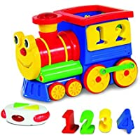 The Learning Journey Remote Control Shape Sorter, Number Express Train by The Learning Journey