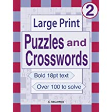 Large Print Puzzles and Crosswords: Volume 2