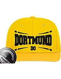 Viper Städte Fashion Baseball Snapback Cap Dortmund gelb