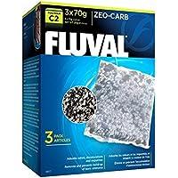 Fluval Esponja para la Filtración Mecánica Zeo Carb para Filtro C2