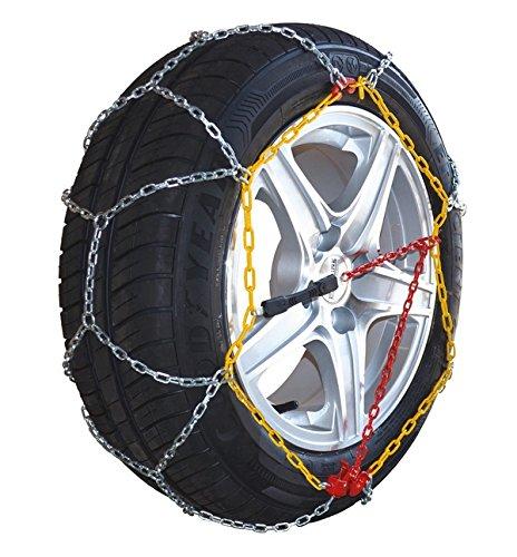Chaine à neige Eco 9mm pneu 195/45R15 montage rapide - Boite comprenant 2 chaines neige