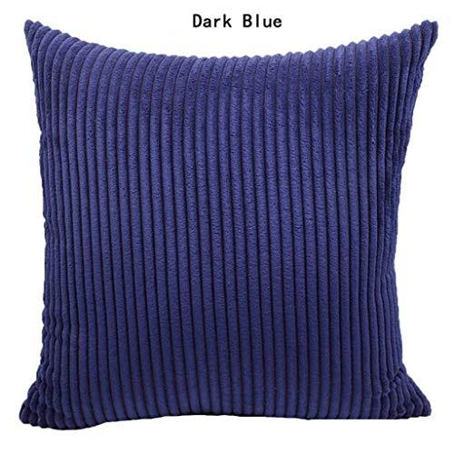 EUCoo_Haushalt Haushalt Kissenbezug einfache einfarbige Cord einfarbige Kissenbezug nordischen Stil Sofa Kissenbezug kissenbezüge -