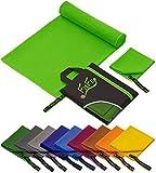 Fit-Flip 80x160cm - 1 Stück/Grün, Handtuch mikrofaser Gesicht Handtuch mikrofaser grau Handtuch mikrofaser Kinder Handtuch mikrofaser klein Handtuch mikrofaser leicht