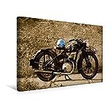 Premium Textil-Leinwand 45 x 30 cm Quer-Format Zündapp DB 200 | Wandbild, HD-Bild auf Keilrahmen, Fertigbild auf hochwertigem Vlies, Leinwanddruck von Ingo Laue (CALVENDO Mobilitaet)