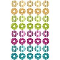 Avery Zweckform 63004 Círculo Permanente Azul, Verde, Magenta, Naranja 40pieza(s) - Etiqueta autoadhesiva (Azul, Verde, Magenta, Naranja, Círculo, Permanente, Papel aluminio, 1,6 cm, 10,1 cm)
