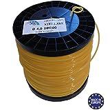 Bobine de fil professionnel pour débroussailleuse étoilé 4mmx170mètres