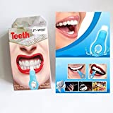 Chenang 2018 Teeth Whitening Kit, Professional Sbiancamento Dei Denti Set Teeth Whitening Bleaching System,Per Gel E Luce Laser (Bianco)