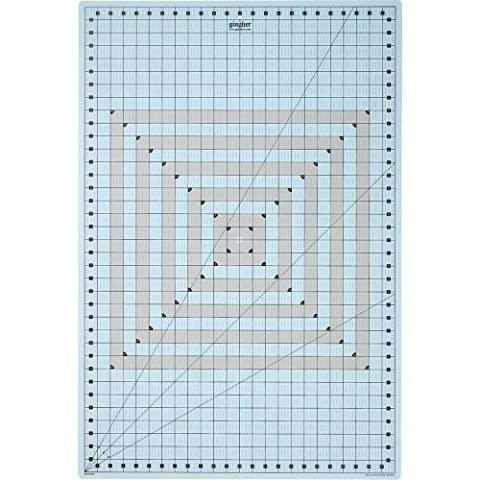 Gingher 24x36 Inch Self-Healing Gridded Rotary Mat by GINGHER