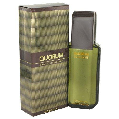 QUORUM by Antonio Puig Eau De Toilette Spray 3.4 oz / 100 ml for Men by Antonio Puig