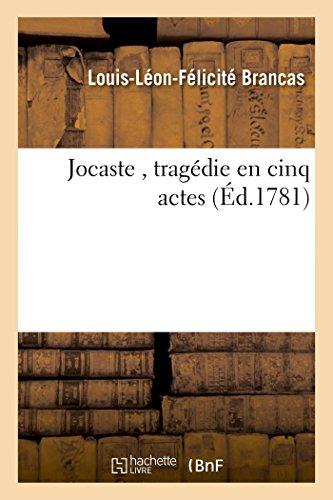 Jocaste, tragédie en cinq actes