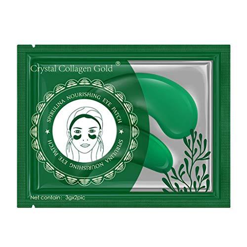 Alles In Eine Collagen-maske (Maleya Gel Augenpads Eye Mask Augen Patches Pads Augenpads Gegen Augenringe Hydrogel Eye Patch Collagen Maske Anti Aging Mask Patch Augenpflege 1 STÜCK Aging Unter Kristall Gel Patch Anti Maske)