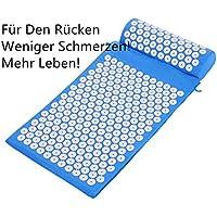 Yukio 2018 Testsieger Rückenschmerzen Blumenfeld Akupressurmatte 38x62cm Akupressur-Set Entspannungsmatte inkl... preisvergleich bei billige-tabletten.eu