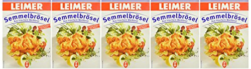 Leimer Semmelbrösel  Packung, 5er Pack (5 x 400 g)