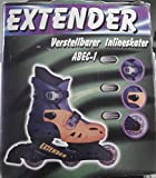 Hoffmann EXTENDER Verstellbarer Inlineskater ABEC-1 Gr.25-28