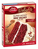 Betty Crocker Super Moist Cake Mix - Red Velvet (432g)
