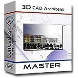 3D CAD Architekt Master - Architektur Software/Programm von ConCadus