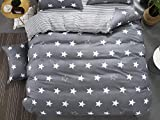 TylAdamdongdong Warme Winter Microfaser Bettwäsche,Cartoon Kids Bettbezug Bettwäsche Single Double Queen King-Farbe wie Bild 17_155 x 215 cm