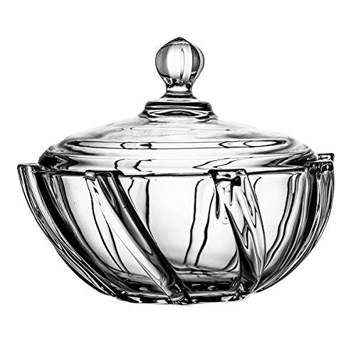 Crystaljulia 2239 bonbonnières, pour Cristalite, Transparent, 19 cm