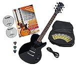 Rocktile LP-100 BL Guitare électrique Black avec accessoires