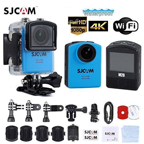 Original SJCAM M20 2160P 24FPS 1080p NTK96660 Action Sport Camera Waterproof DV Blue