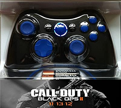 Xbox 360 Blue Controller - Advanced Warfare, Ghosts, Black Ops 2
