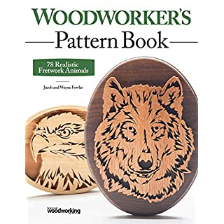 Woodworker's Pattern Book: 75 Realistic Fretwork Animals