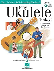 Play Ukulele Today!: A Complete Guide to the Basics Level 1 Bk/online audio by Barrett Tagliarino (2006-06-01)