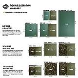 Aqua Quest Safari Sil Tarp - 100% Wasserdicht - 3 x 2 m Medium - Camouflage Tarnung -