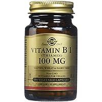 Solgar Vitamine B1 (Thiamine) 100 mg 100 Gélules Végétales