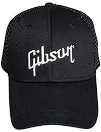 Gibson - Cappellino da baseball - Uomo Nero nero-bianco Taglia unica fa6989626f0d